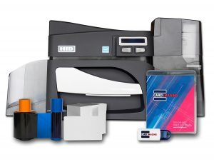 Fargo DTC4500e Single side ID Card Printer
